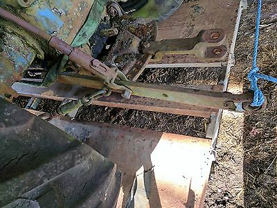 Pair Of Lift Arms Removed From Fordson Super Major