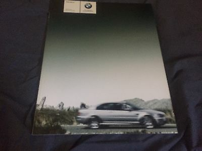 2006 BMW M3 Coupe and Convertible 70 Page USA Market Sales Brochure Prospekt