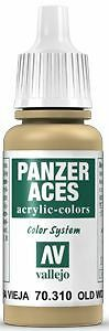 010 Old Wood, 17ml - Vallejo Panzer Aces