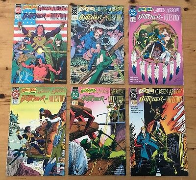 "Brave and the Bold ""Green Arrow, Butcher & Question""  - Lot of 6! #1,2,3,4,5,6"