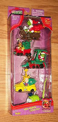 Dr Seuss How the Grinch Stole Christmas Who-Mobile Collection, Die-cast Chassis