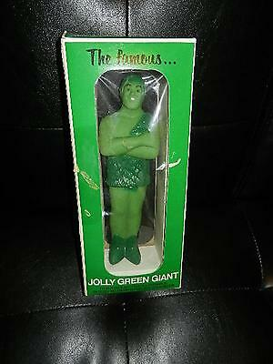 "Rare 1970's 12"" Jolly Green Giant Advertising Figure Mib Nos Product People"
