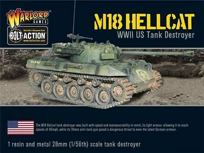 [Bolt Action] US M18 Hellcat - Tank Destroyer - Warlord Games WW2 - 28mm - 1:56