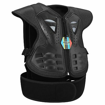 Children Body Guard Vest Chest Back Protector Anti-fall Gear For Cycling Skiing
