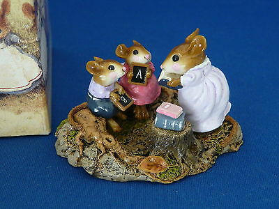 WEE FOREST FOLK M-268 COUNTRY CLASSROOM  Octoberfest 2004 exclusive 1 of 225