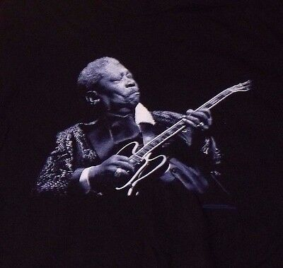 BB King 2005 Tour T Shirt SIZE XXL Unworn Shape