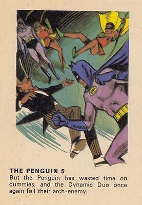Batman card from Weeties and Rice Krinkles  The Penguin 5