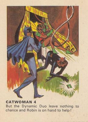 Batman card from Weeties and Rice Krinkles Catwoman 4