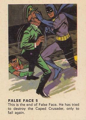 Batman card from Weeties and Rice Krinkles False Face 5