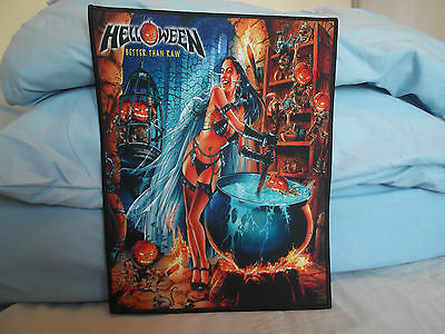 Helloween - Better than Raw Back Patch Iron Maiden/Blind Guardian/Sabaton/Dio