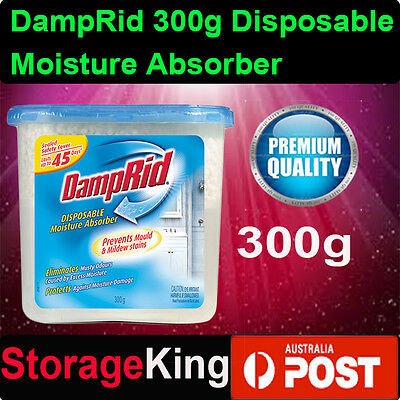 DampRid 300g Disposable Moisture Absorber Dehumidifier Dryer Agent Closet Odor