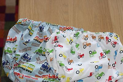 Handmade Diaper/nappy Cover Pants 12-24 Months(Unisex)  Two Pair