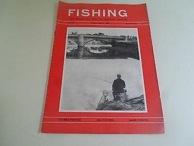 Vintage 7th June 1963 FISHING Magazine + Scarborough Tunny Fish Pictures