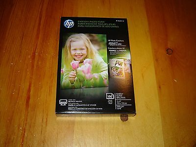 """HP Everyday Photo Paper - Glossy - 4""""x6"""" 100sheets"""