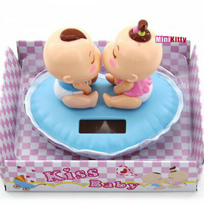 Baby Kiss Nohohon Solar ECO Japan Figure Sunlight Buddy Xmas Gift Free Shipping