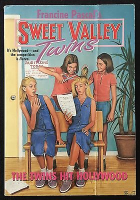 The Twins Hit Hollywood ~ Sweet Valley Twins #107 ~ FRANCINE PASCAL