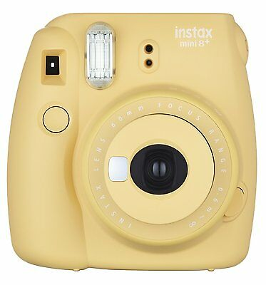 Fujifilm Instax Mini 8 (Honey) Instant Film Camera- Self Shot Mirror