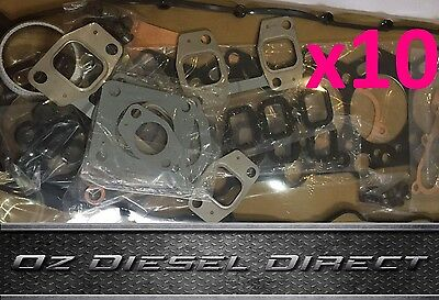 Toyota 1HDFTE 1HD-FTE HDJ79 Bulk Buy x 10 Full Gasket Set Kit New