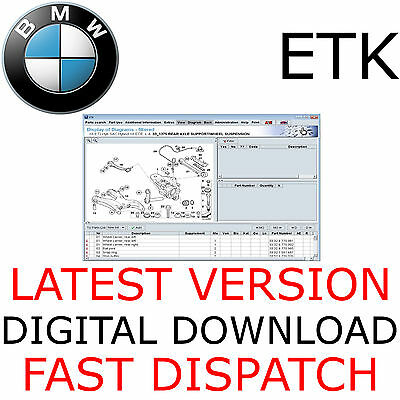 NEW VERSION - BMW ETK 06/2017 Electronic Parts Catalogue EPC + Price List