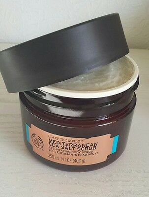 The Body Shop Mediterranean Sea Salt Body Scrub 350Ml