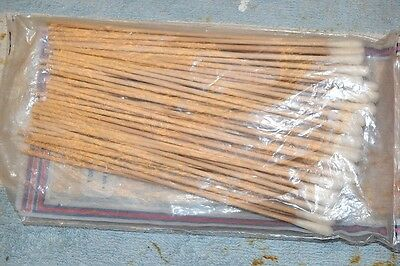 REALISTIC 44-1093A HEAD CLEANING STICKS COTTON SWABS remains of package about 50