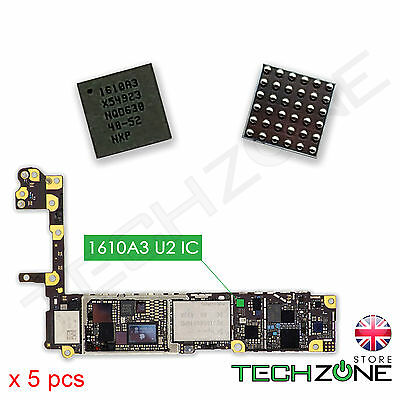 5 X U2 Charging ic 1610A3 For iPhone 6 6 Plus SE iPhone 6S 6S Plus Power IC