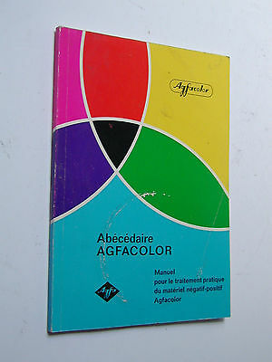 manuel AGFACOLOR  AGFA  3e édition 1968 photo photographie