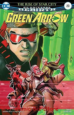 Green Arrow #23 (2017) 1St Printing Bagged & Boarded Dc Universe Rebirth