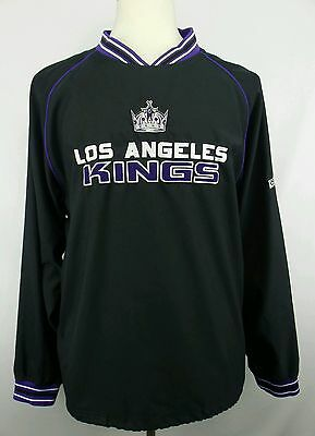 Vintage CCM NHL Los Angeles Kings Pullover Hockey Jacket Size Adult Medium M 7df37f695