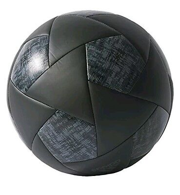 Authentic Adidas Performance X Glider Soccer Ball Black Grey Football Size 5 NEW