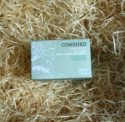 New - Cowshed Sandalwood Intensive Hand & Foot Treatment - 200ml