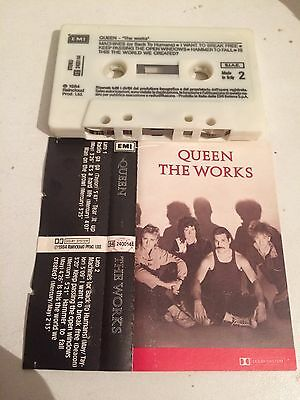 Queen - The Works MC cassetta tape Ita Press