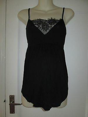 Pretty Size 14 Lace Detail New Look Summer Maternity Top See Pics!!