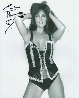 Caroline Munro In Person Signed Photo - GORGEOUS!!!!!! - AG39