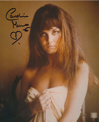 Caroline Munro In Person Signed Photo - STUNNING!!!!! - AG38