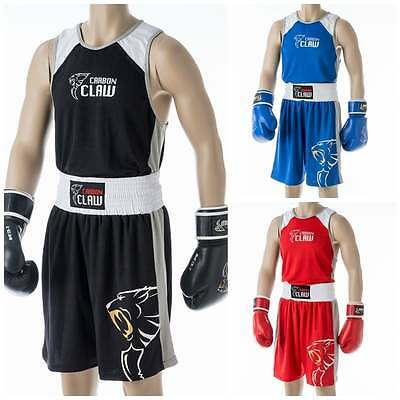 Carbon Claw Boxing ATM Premium Boxing Shorts - Black