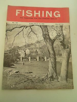 19 March 1965 Vintage FISHING The Magazine For The Modern Angler +Advertising