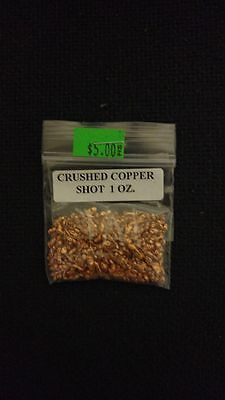 1 oz. Crushed Copper Shot for Inlay