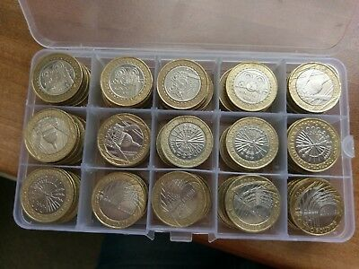 Two (£2) Pound Coins Royal Mint British Coin Hunt - Discount For Multiple Buys