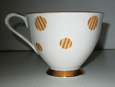 Royal Standard Fine Bone China England Tea cup Fiesta Gold Trim