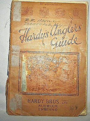 10% DISCOUNT SALE Hardy's 53rd Edition1933 Angler's Guide Original Illustraded