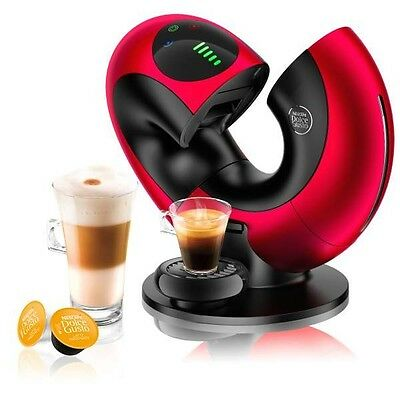 NEW Nescafe Dolce Gusto Eclipse Automatic by DeLonghi Coffee Machine - RED - DHL