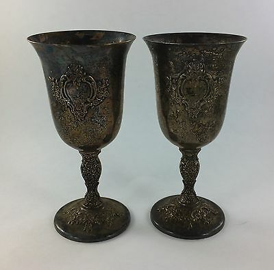 Countess International Silver Water Goblet