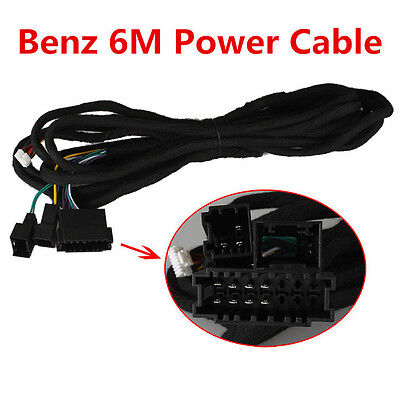Special 6M Power Cable For Ownice Benz W211 Car DVD Radio