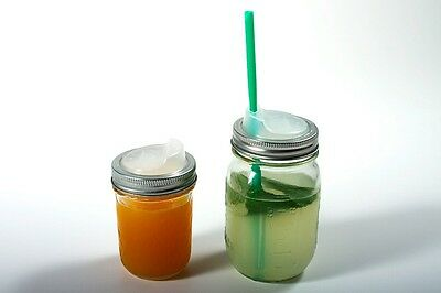 Cuppow Drinking Lid- Regular Ball Mason Jar Mouth- Lid Only
