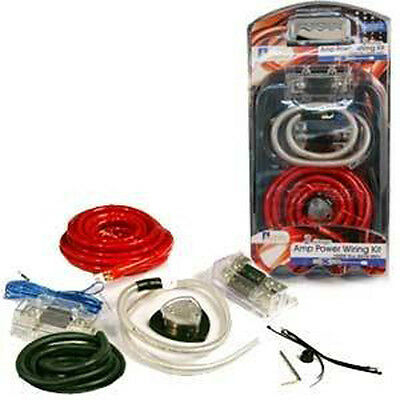 Aerpro MX006 6 AWG 700W MAX AMP POWER WIRING KIT