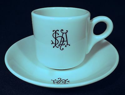 1950's Aust. Pottery W.a. Bristile Ware Coffee Demitasse For Sth Aust Hotel.