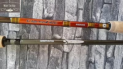 SHIMANO Sojourn + DAIWA Crossfire Fishing 2 Rod COMBO Spinning Jigging Graphite