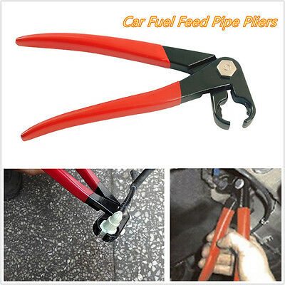 Portable 220mm Car Offroad Fuel Feed Pipe Plier Grips In Line Tubing Filter Tool
