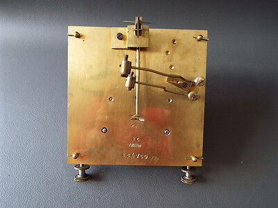 Antique or vintage Lenzkirch clock movement - repair spares or parts